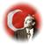 sitene türk bayrağı